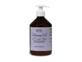 Olejek do masażu z olejem z pestek winogron 500 ml