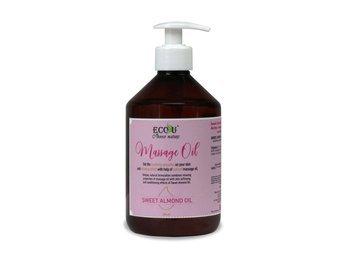 Olejek do masażu z olejem ze słodkich migdałów 500 ml