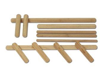 Zestaw 12 pałeczek bambusowych