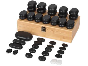Zestaw kamieni do masażu 45 szt.