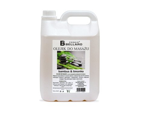 Olejek do masażu Bamboo & lime 5L